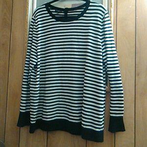 Nwts.Talbot's long sleeve sweater#lambskin blend